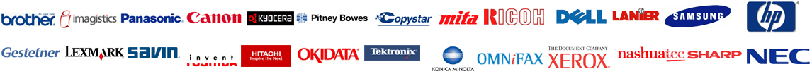 Supported Brands for Copier lease San Diego